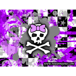 FREE Desktop Wallpapers - Emo / Scene Kid / Punk Rock - Skul