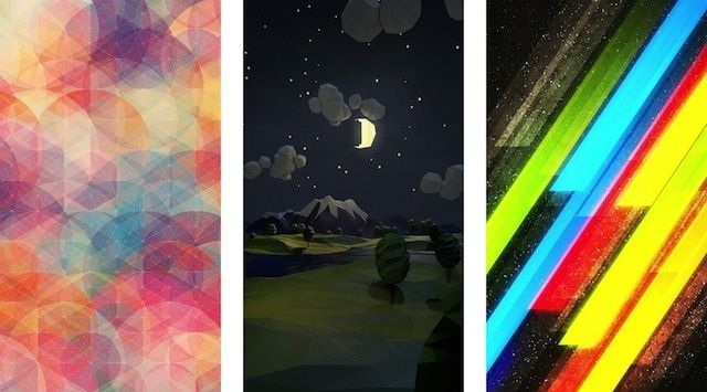 12 Simple Wallpapers To Make Your iPhone 5 Look Fabulous [Gallery