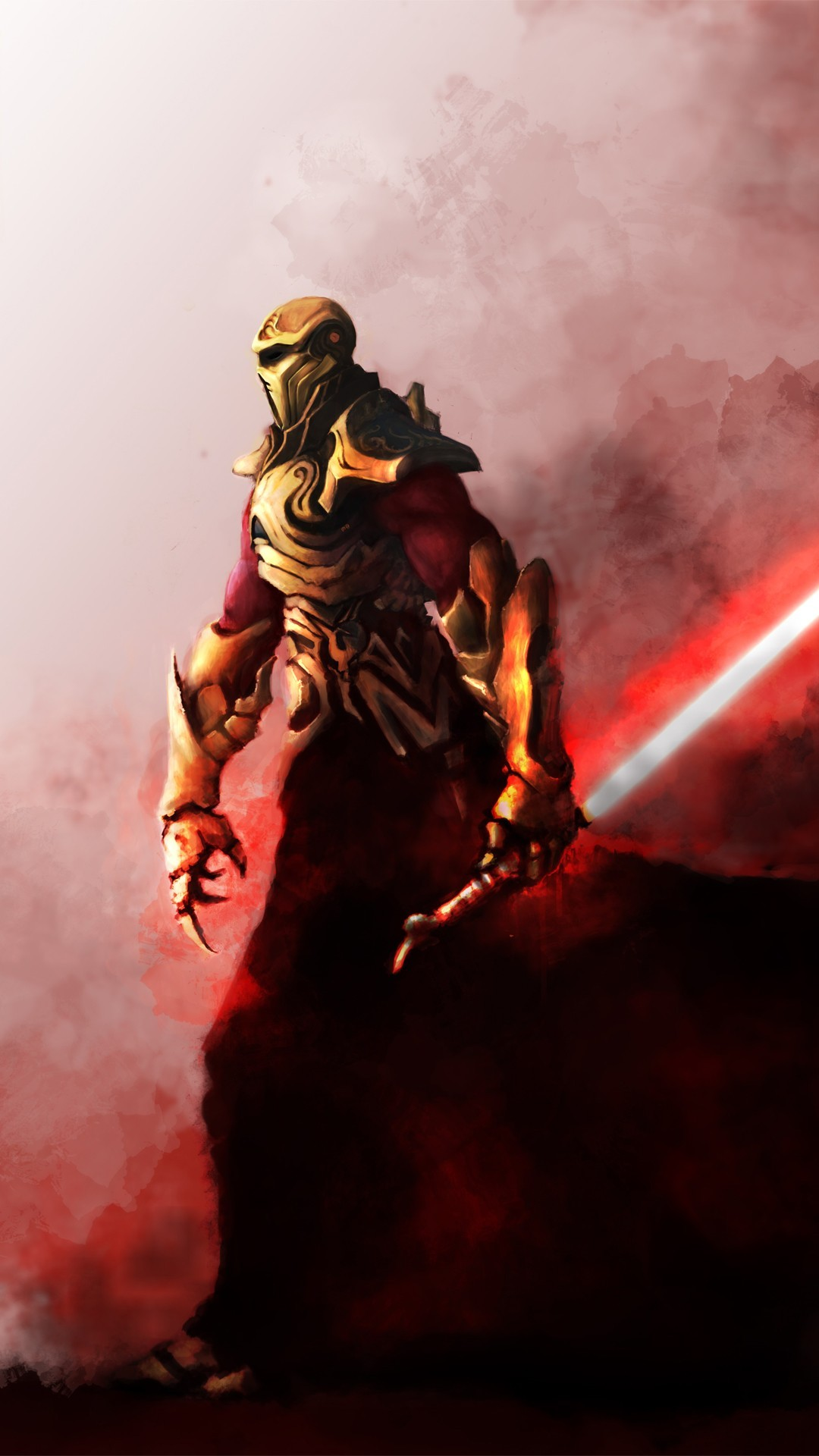 Sith warrior - Star Wars - The Old Republic Mobile Wallpaper 5331
