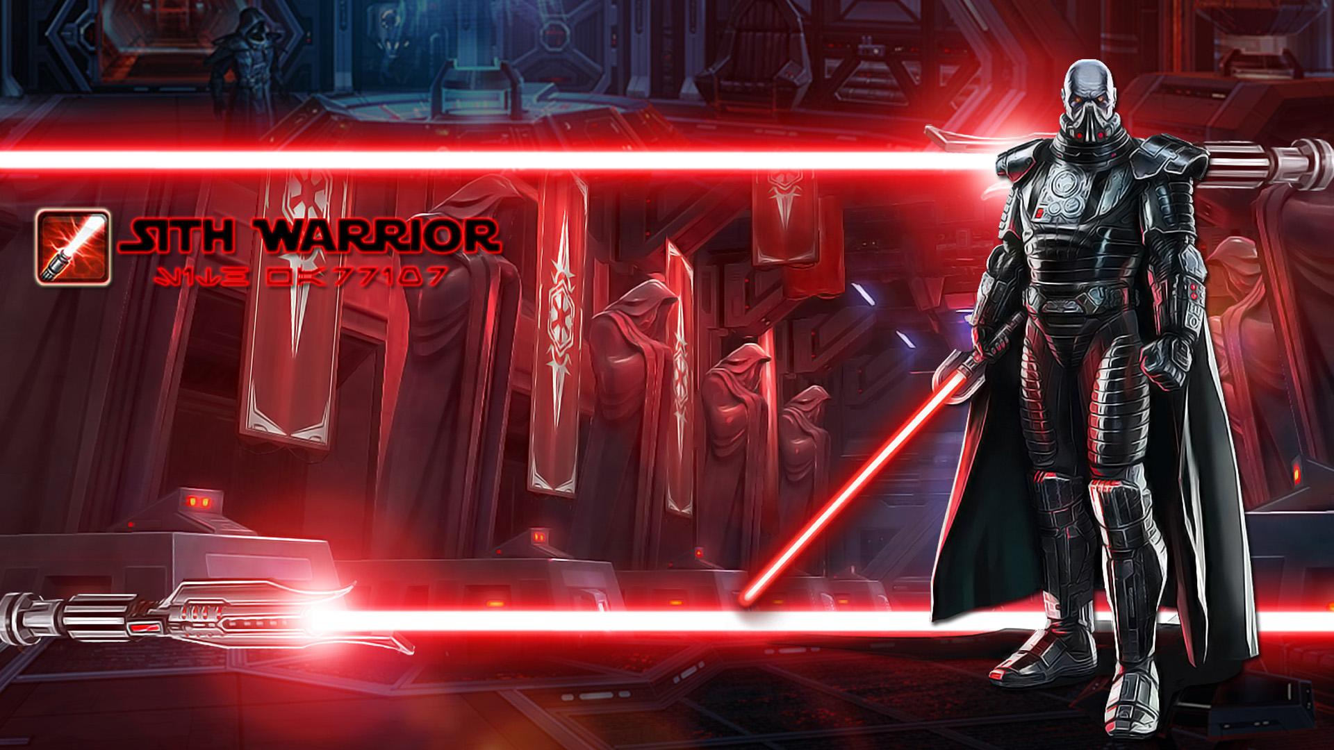 Sith Warrior Lasersaber wallpaper