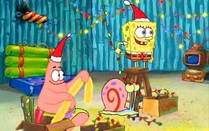 spongebob christmas wallpaper 23