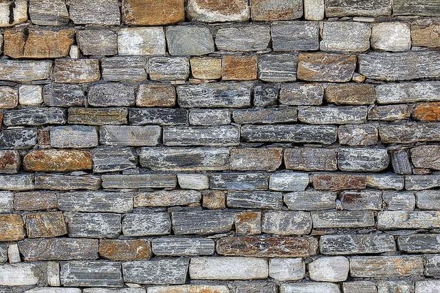 Shop Houzz | Magic Murals, LLC Bhutan Stone Wall Detail Wallpaper
