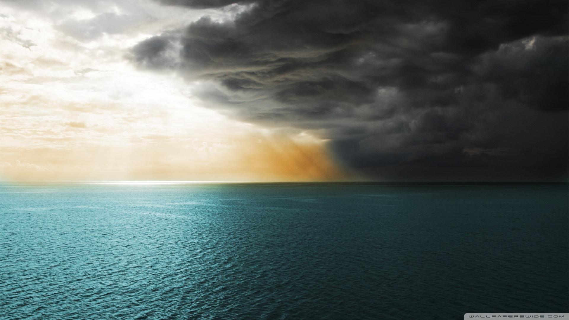 Sea Storm HD desktop wallpaper : High Definition : Fullscreen : Mobile