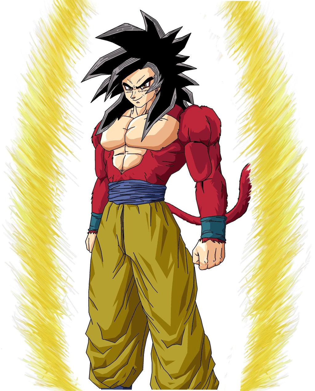 Super Saiyan 4 Goku Wallpaper Sf Wallpaper