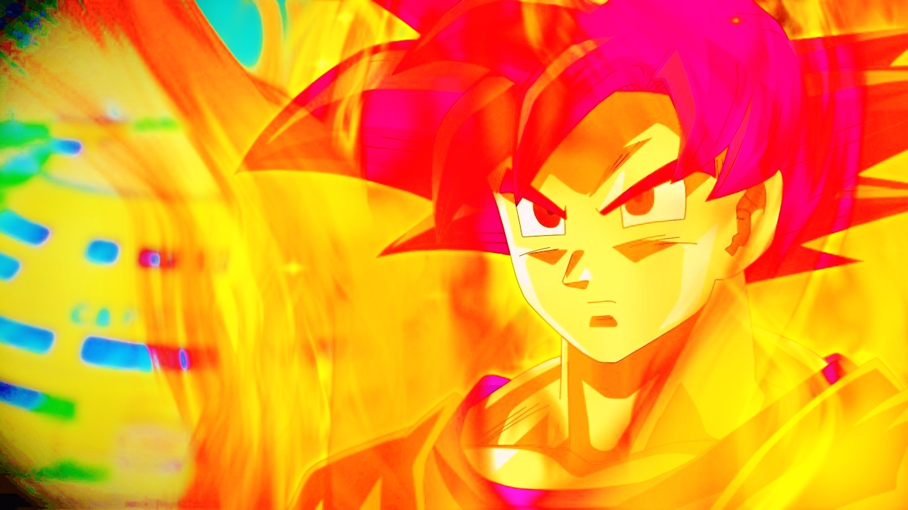 Super Saiyan God Wallpaper Sf Wallpaper