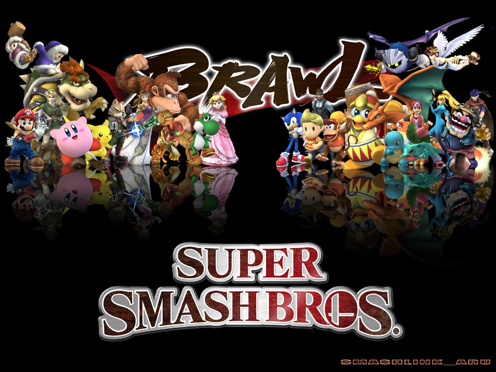 Super Smash Bros Brawl Wallpaper Sf Wallpaper