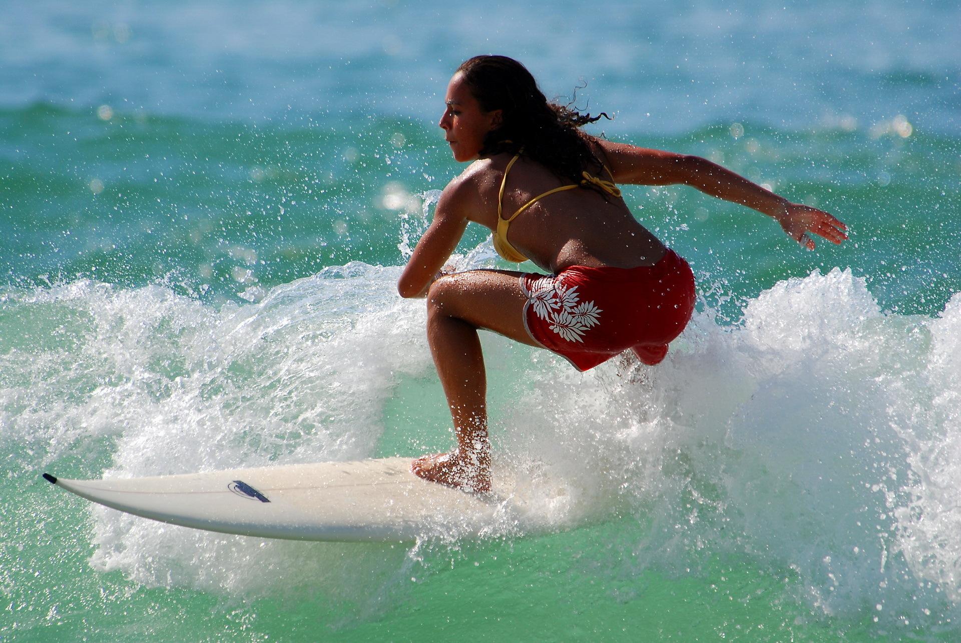 Surfer Girl Wallpaper |     girl hd desktop 1920x1285 Sunset