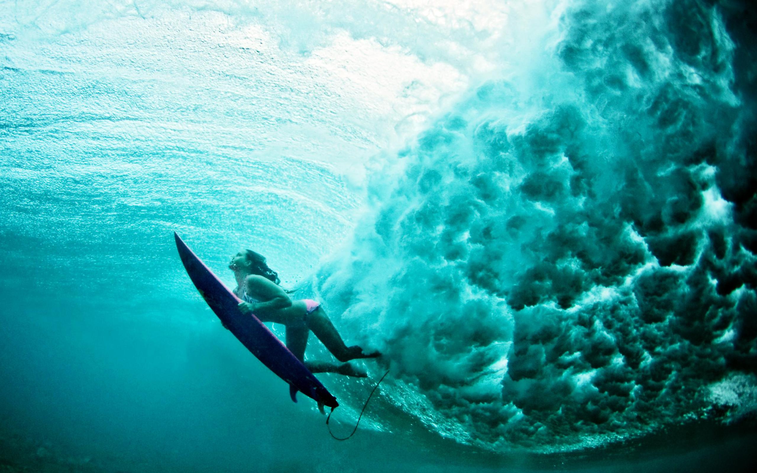 Girls Surfing Wallpaper - WallpaperSafari