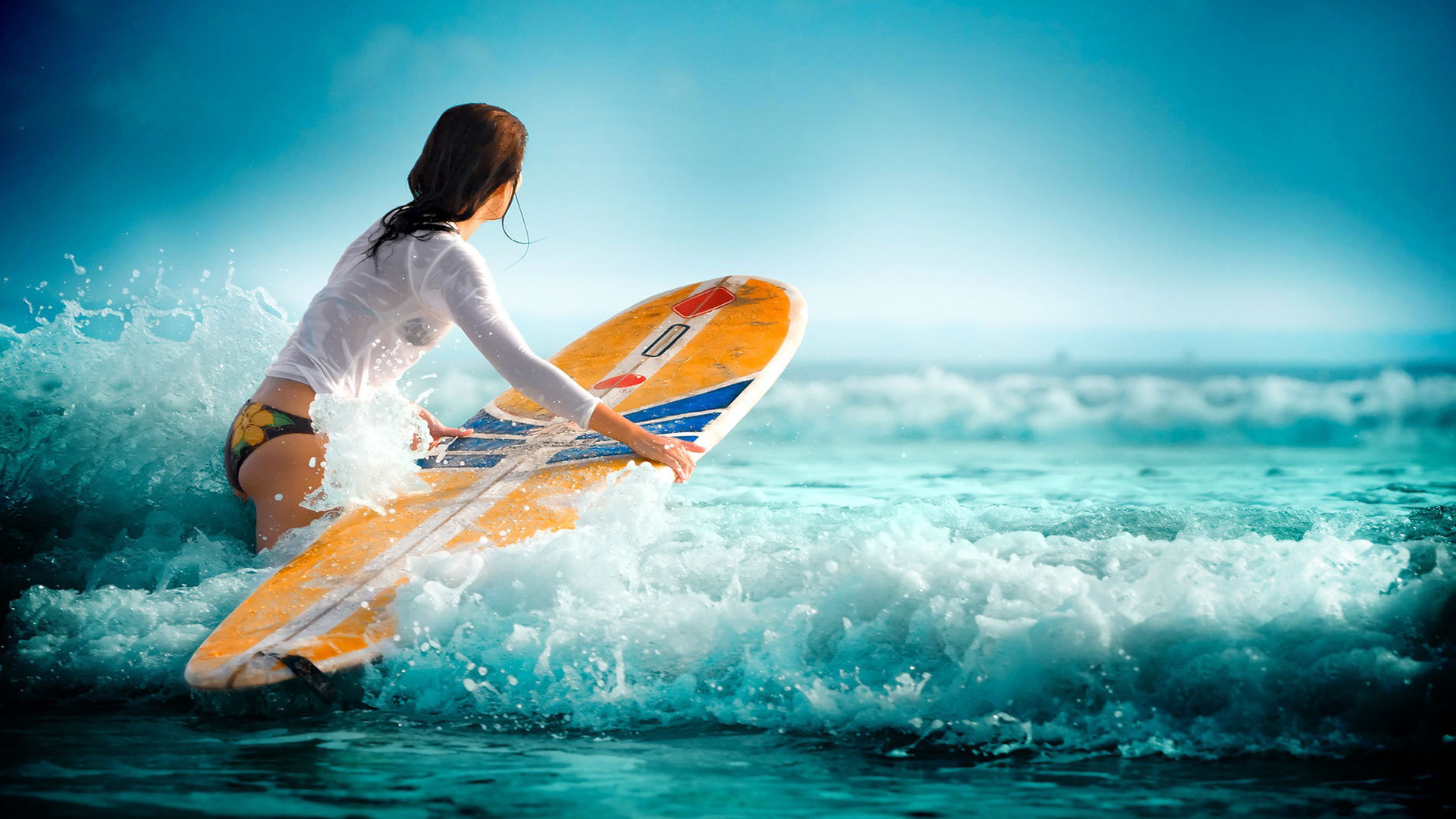 Surfer Girl Wallpapers, Beach Pictures and images