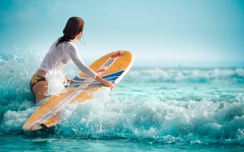 Surf Beach Wallpapers - Wallpaper Cave