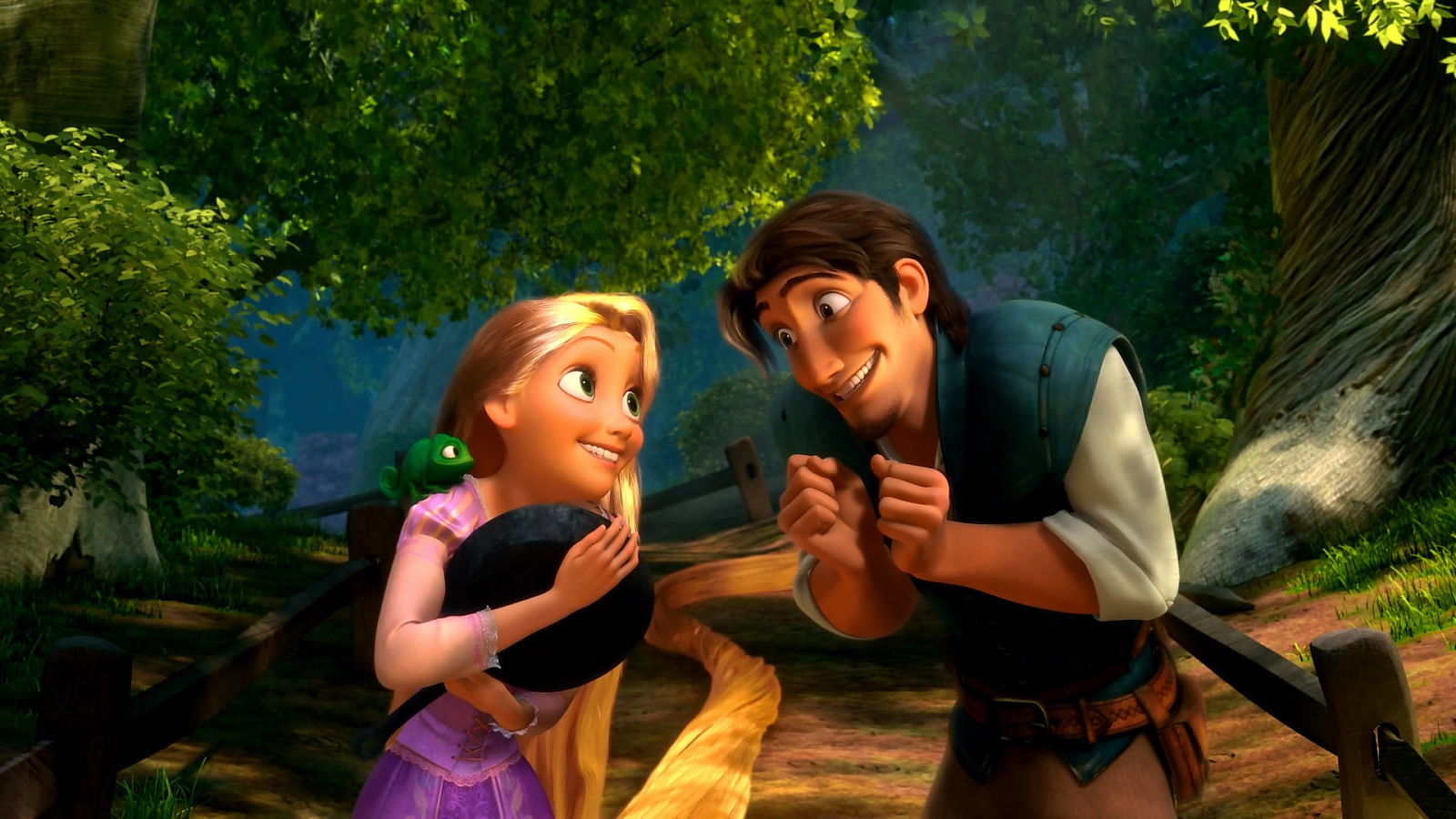 You Will NOT Recognize Rapunzel in the First Pics from the