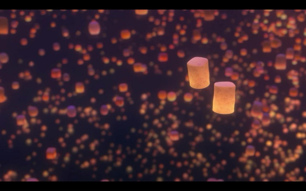 tangled lanterns wallpaper 23