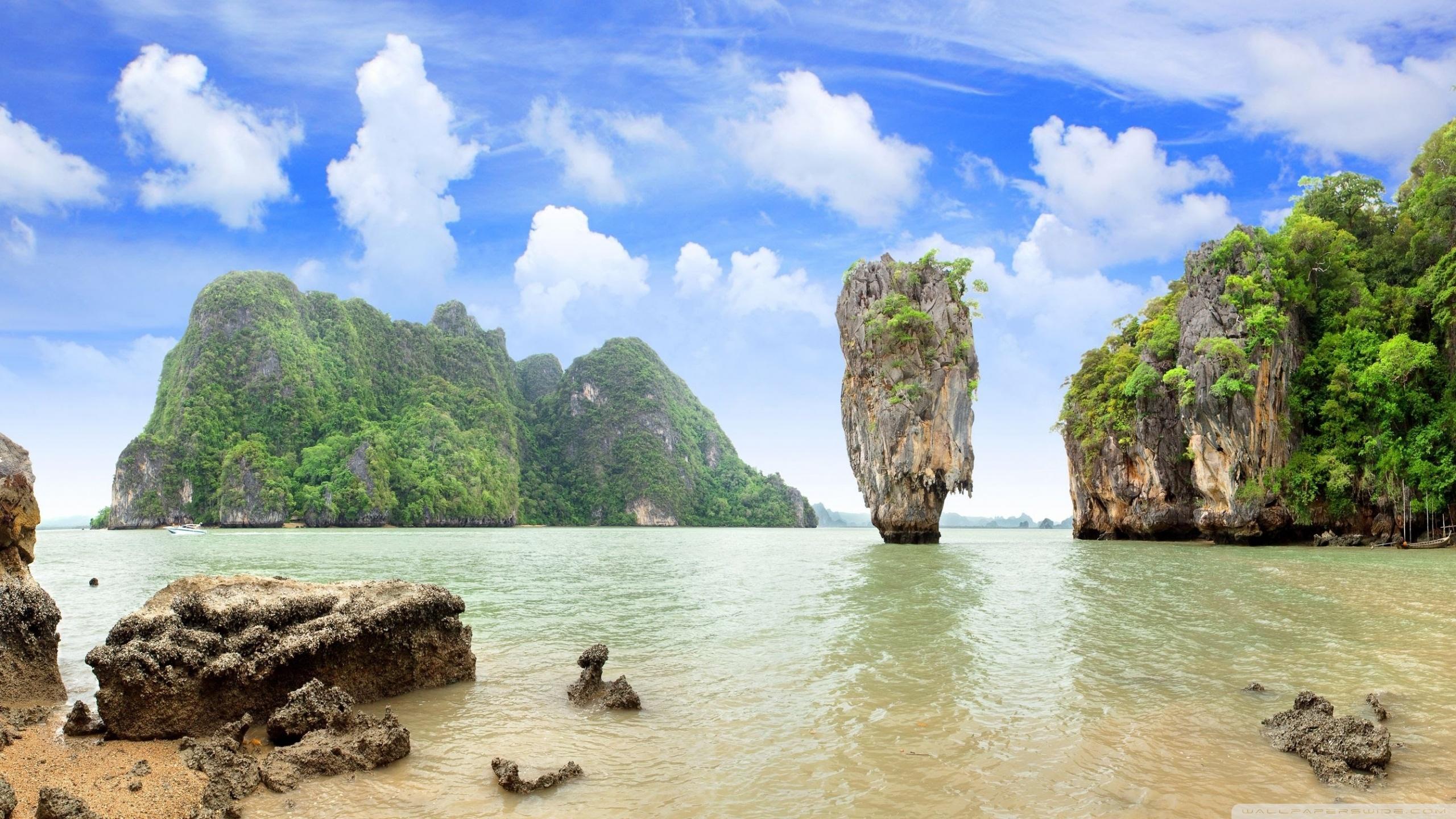 Thailand Islands HD desktop wallpaper : Widescreen : High