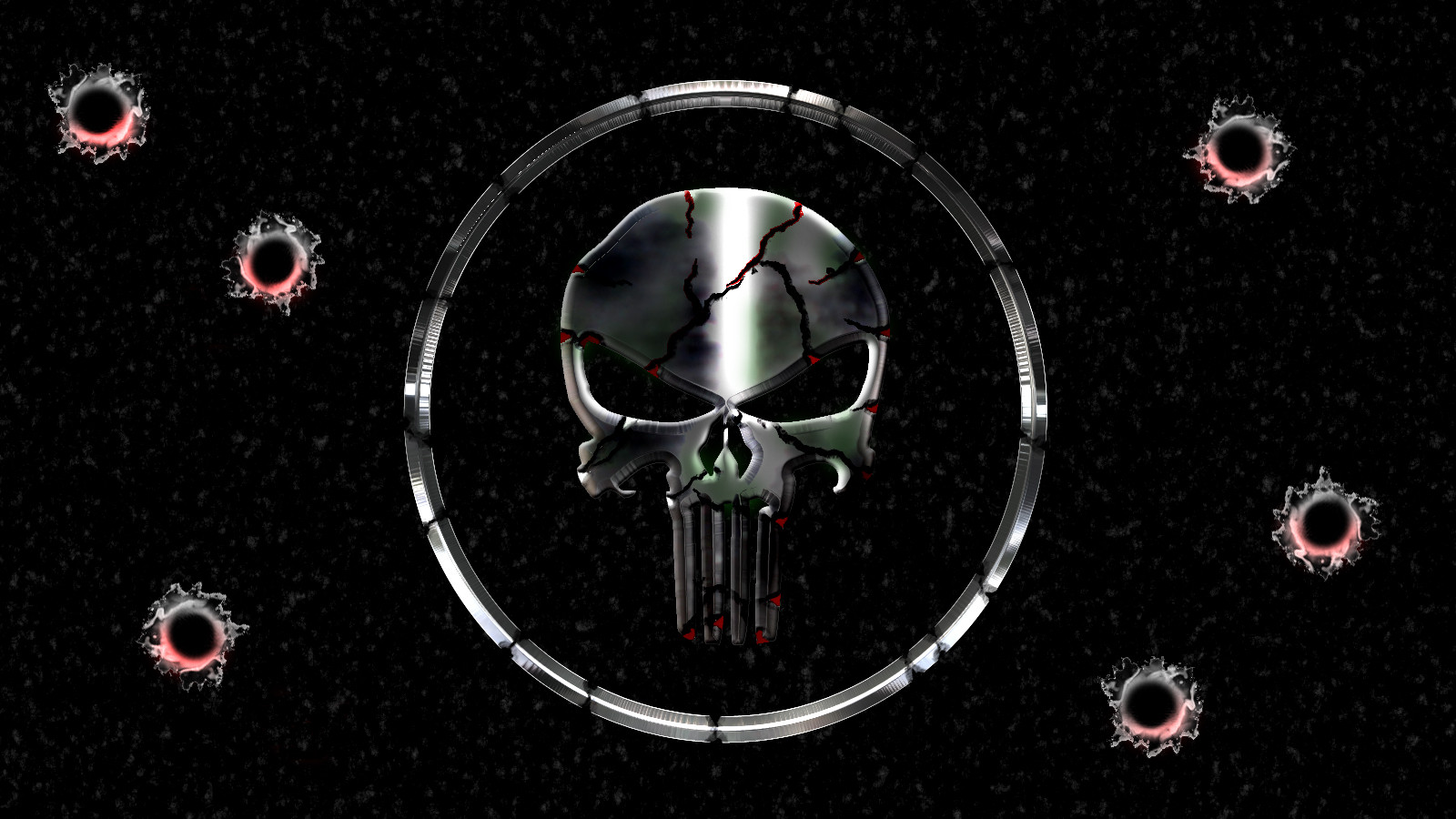 The Punisher Skull Wallpaper - WallpaperSafari