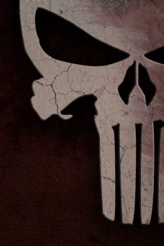 The Punisher Skull Android Wallpaper HD | Comics Android