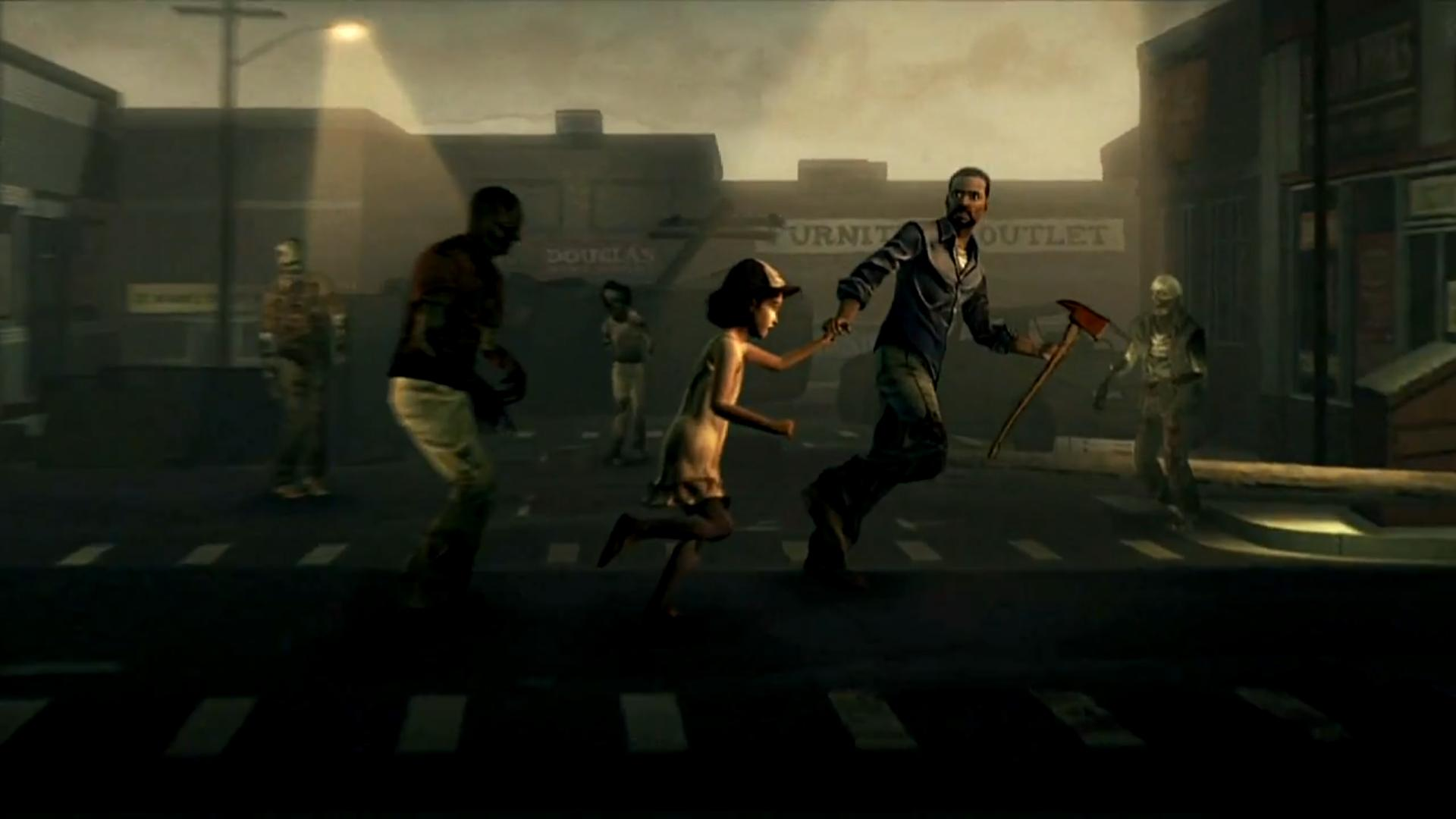 The Walking Dead Game Wallpaper Sf Wallpaper
