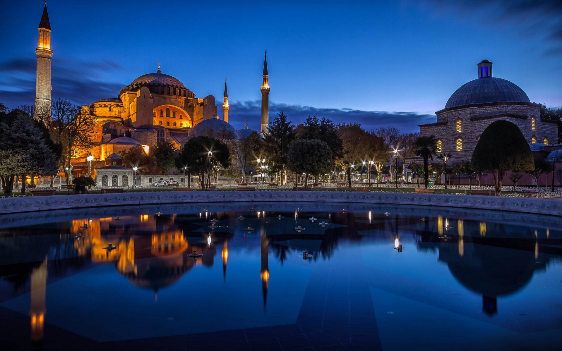 Aya Sophia Turkey Wallpaper HD For Desktop in High Quality