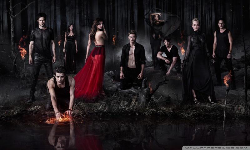The Vampire Diaries HD desktop wallpaper : Widescreen : High