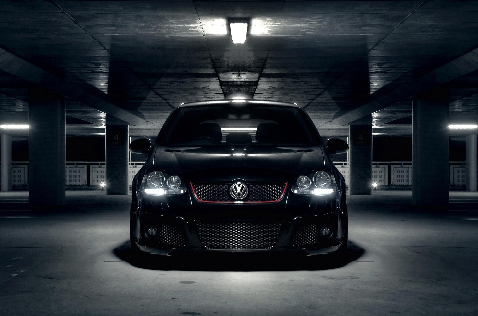 Volkswagen Golf Wallpaper  Volkswagen Golf Wallpaper Black