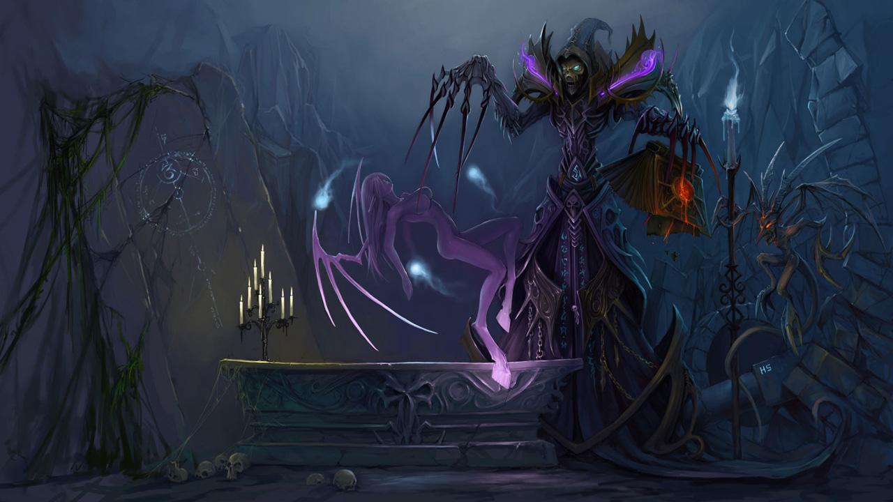 World Of Warcraft Warlock Wallpaper Sf Wallpaper