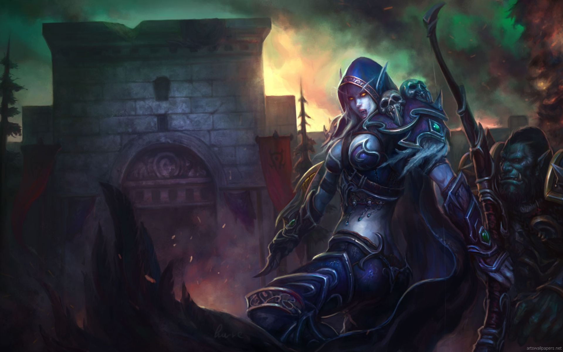 7 Thrall (World Of Warcraft) HD Wallpapers | Backgrounds
