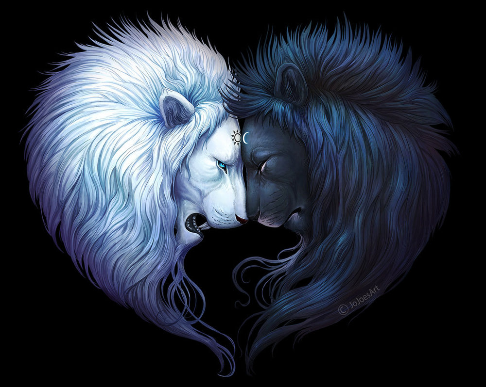 Yin and Yang Wallpaper by JoJoesArt on DeviantArt