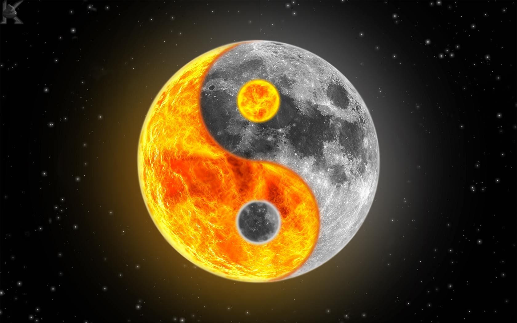 yin yang wallpaper